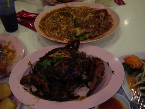 Chili Crab and Black Pepper Crab, Mellben Seafood
