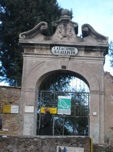 catacombe s. callisto, rome