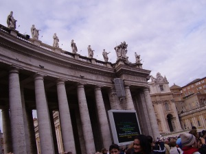 St Peter's Square in Vatican